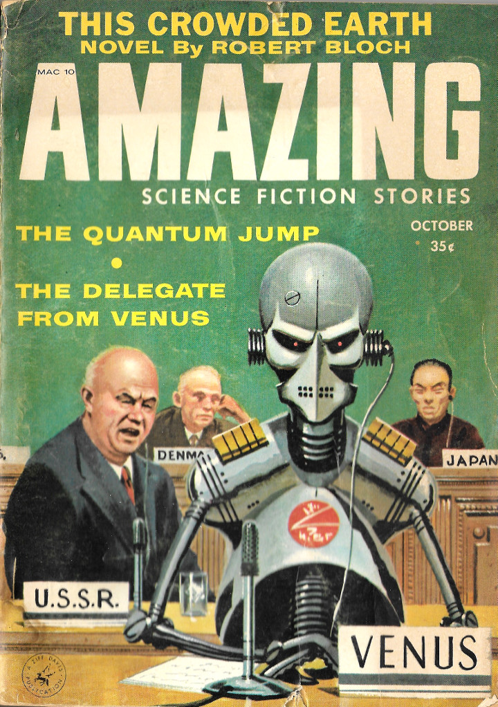 Amazing Science Fiction Stories - October, 1958