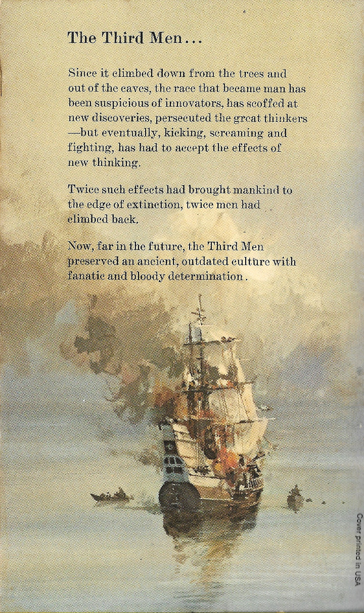 The Cloud Walker by Edmund Cooper - Back Cover