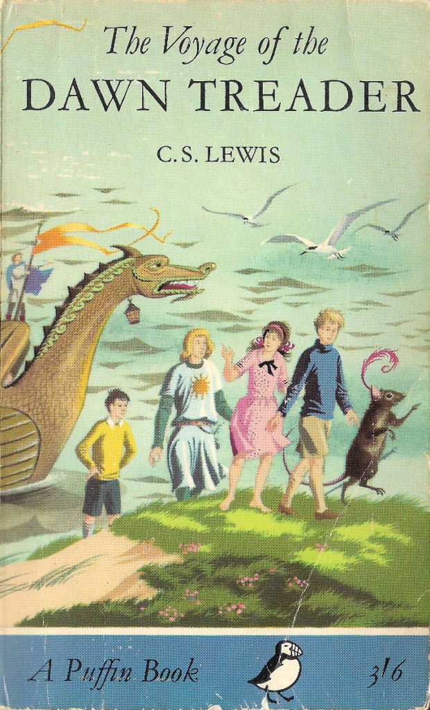 The Voyage of the Dawn Treader by C.S. Lewis (Puffin)
