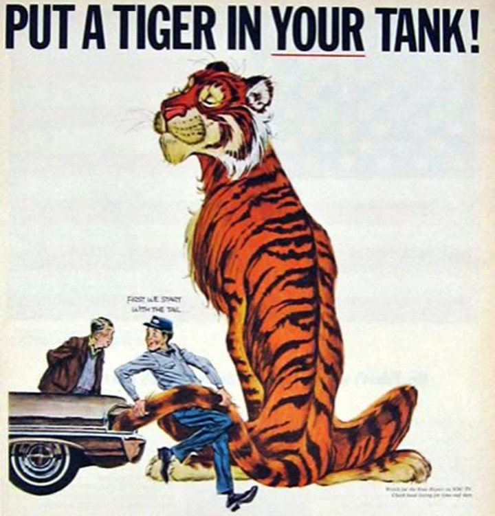 Bob Jones - Exxon Tiger