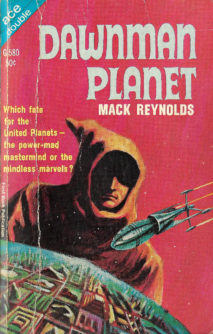 Dawnman Planet by Mack Reynolds (Ace Double)