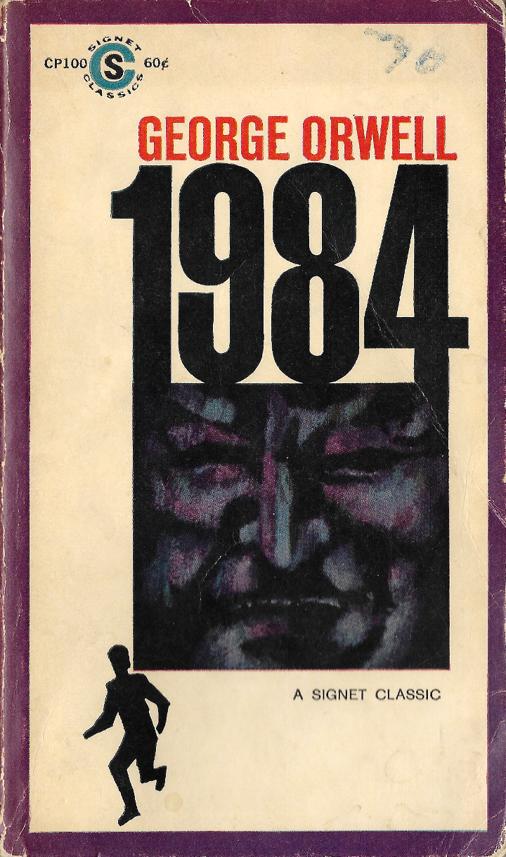 1984 by George Orwell (Signet 26th Printing) – Retro Book Covers