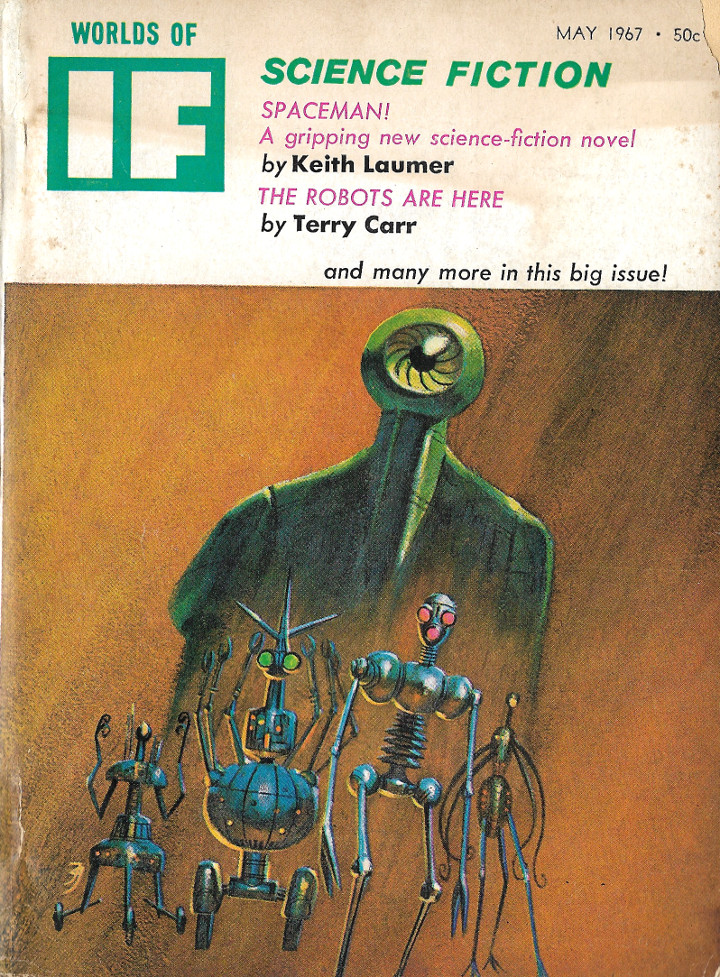 Worlds of IF Science Fiction, May, 1967