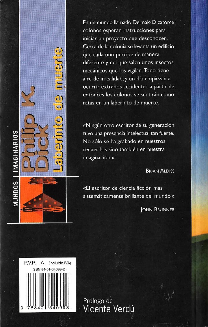 Laberinto de Muerte by Philip K. Dick